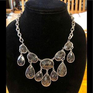 5/$25 Glitter Confetti Cascading Necklace